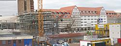 Ansicht der Baustelle am 13. November 2008